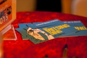 MitSingDing: Postkarten Makro-Aufnahme